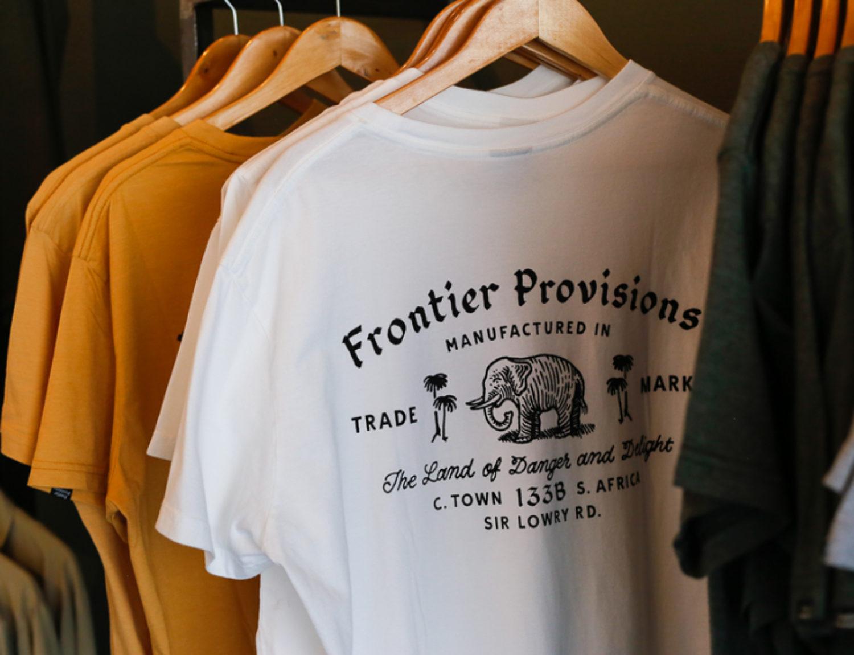 南アフリカ・ケープタウンのローカルブランド「Frontier Provisions」